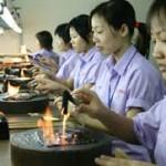 Thông báo tuyển nam, nữ làm nhà máy Đài Loan