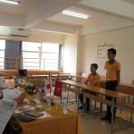 Học viên thi tuyển đơn hàng Xkld đóng gói tại Fukuoka – Nhật Bản