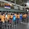 Tuyển 25 nam phun đá dăm đi xuất khẩu lao động Đài Loan