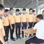 Thi tuyển đơn hàng lắp ván khuôn đi xuất khẩu lao động Nhật Bản