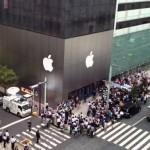 Mua iphone quốc tế trong các cửa hàng tại Nhật Bản