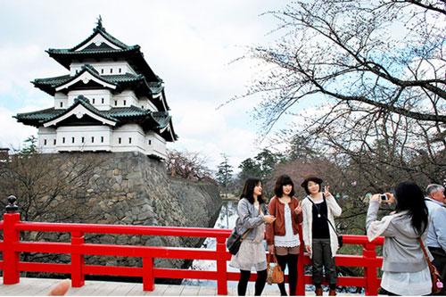 Kết quả hình ảnh cho du lịch du học Nhật bản
