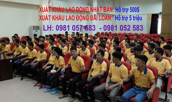 2 đơn hàng xuất khẩu lao động Đài Loan gửi form tăng ca nhiều