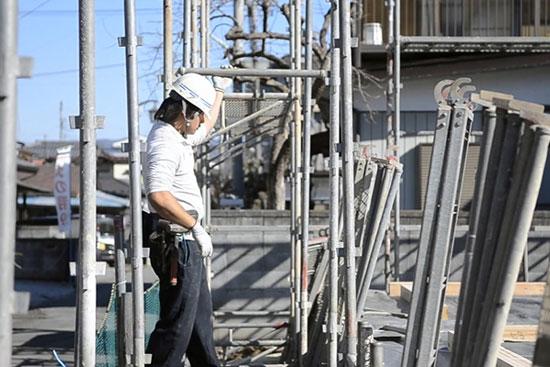 Đơn hàng xây dựng giàn giáo thi tuyển tháng 11 lương cao