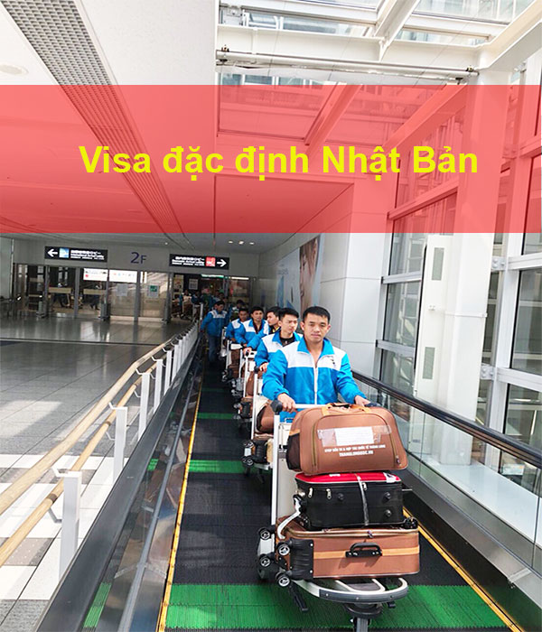 visa đặc định Nhật Bản