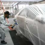 Đơn hàng sơn, sản xuất linh kiện ô tô tại Nhật