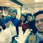 Người Việt rồng rắn xếp hàng mua may mắn đầu năm tại Nhật