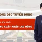 Cần tuyển Phó Giám đốc phụ trách tuyển dụng xuất khẩu lao động