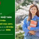Chương trình tuyển sinh du học Nhật Bản ưu đãi cực lớn