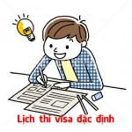 Lịch thi visa đặc định Nhật Bản năm 2020